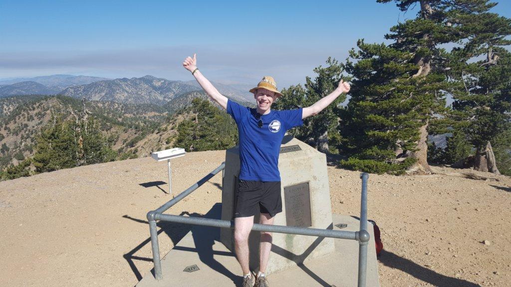 Besteg Mount Baden-Powell