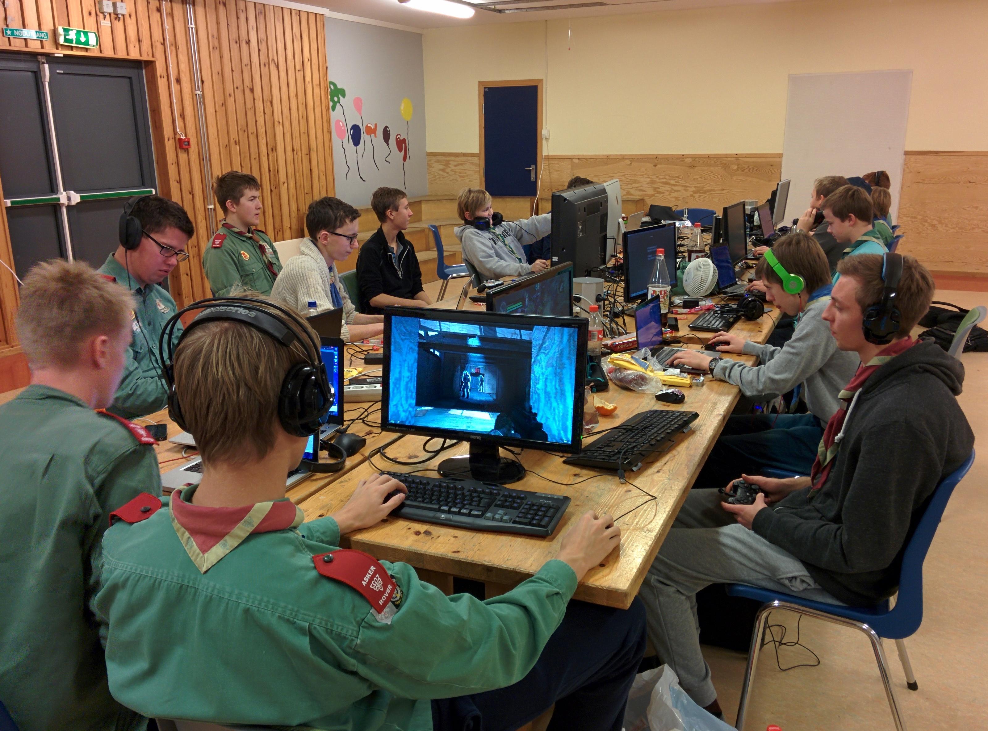 Speider-LAN for de eldre guttene