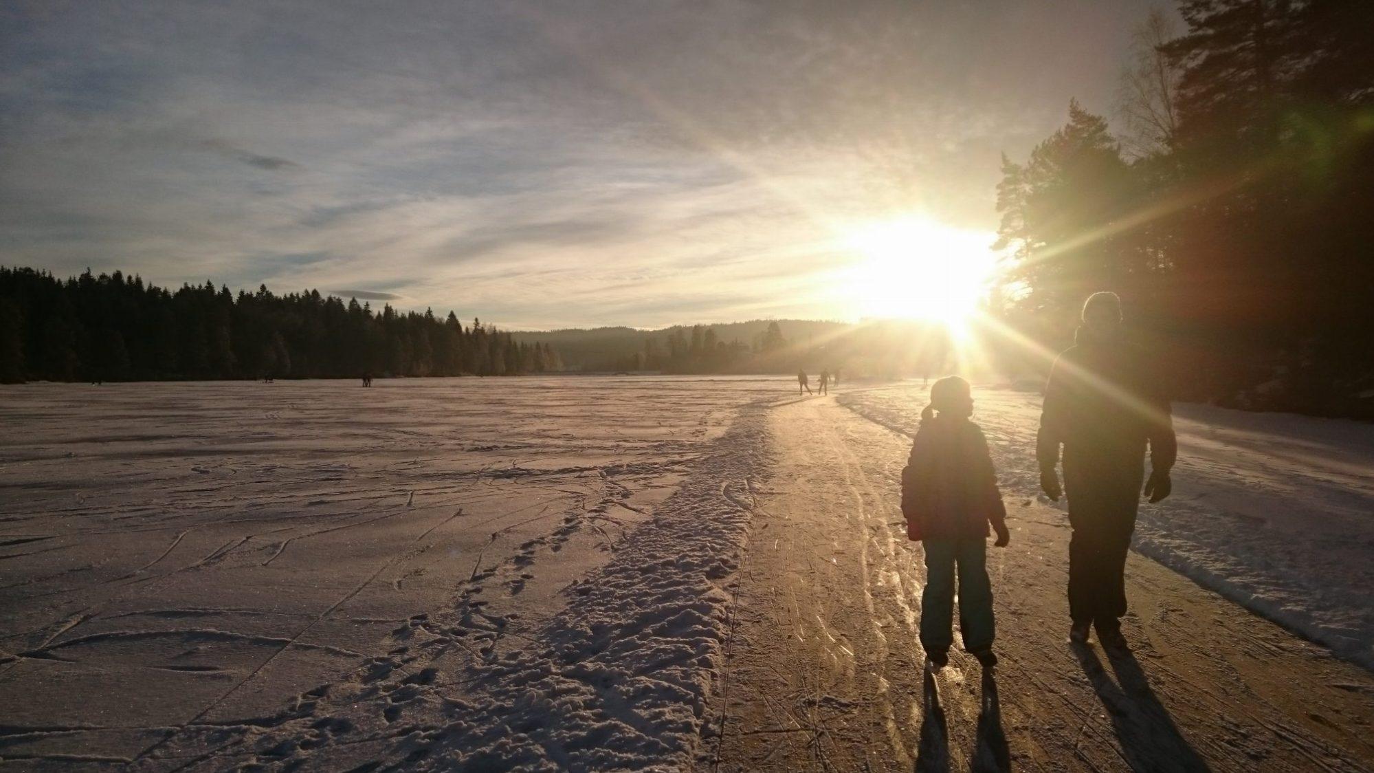 Felles møte på isen