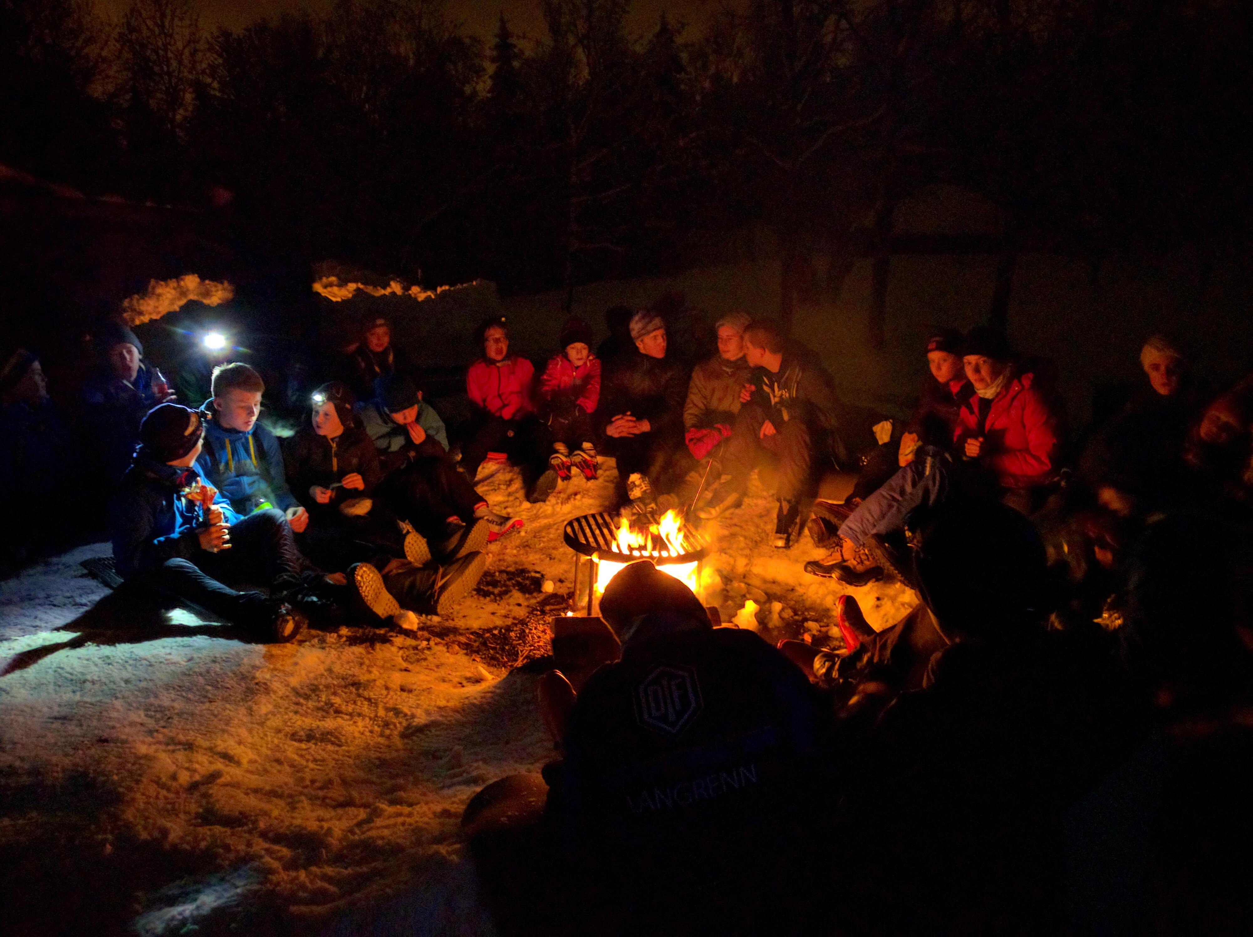 VinterTRÅKK til Sandungen