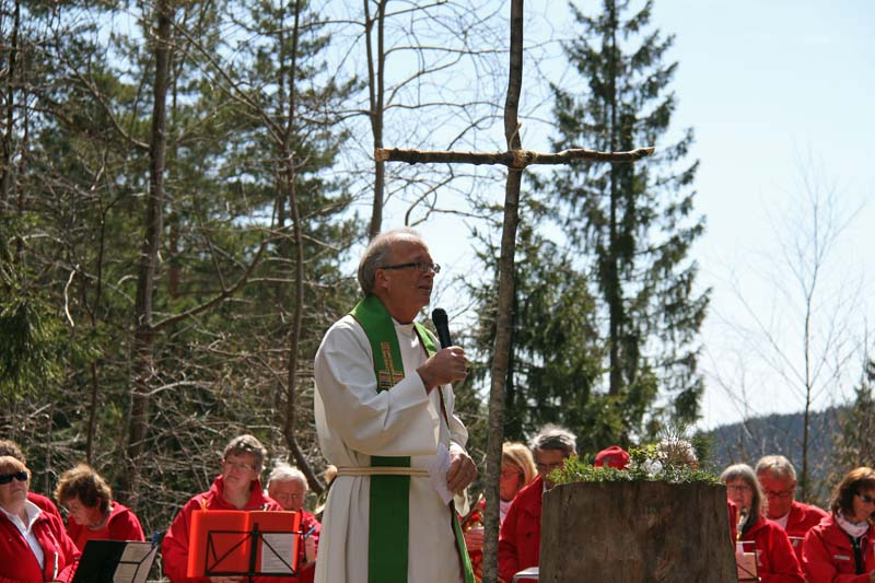 St Georgstur med frilufts-gudstjeneste