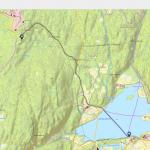 kart over tur