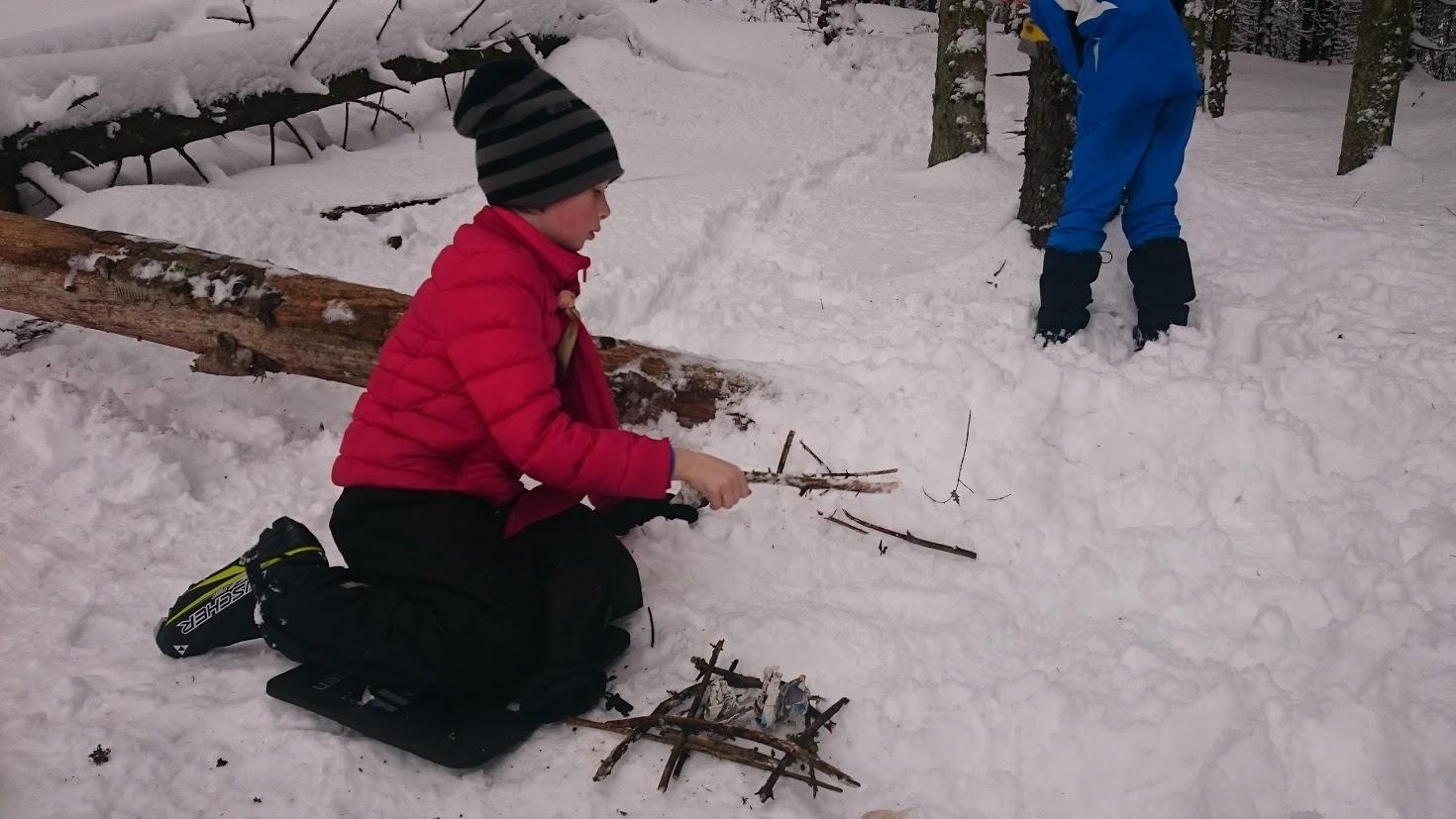 Vinter-tråkk for stifinnerne